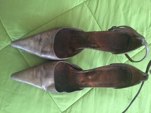 zapatos de cuero  natacha