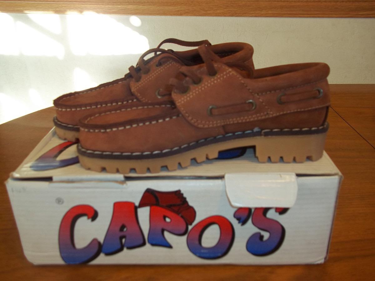 Tipo Nobuk Leñador Cuero Numero Zapatos De 34 OP0nwk
