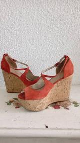 Corcho Talla Zapatos Plataforma 41 Altos De Dama vON0m8nw