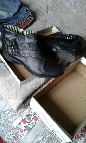 zapatos de dama cuero talle 36
