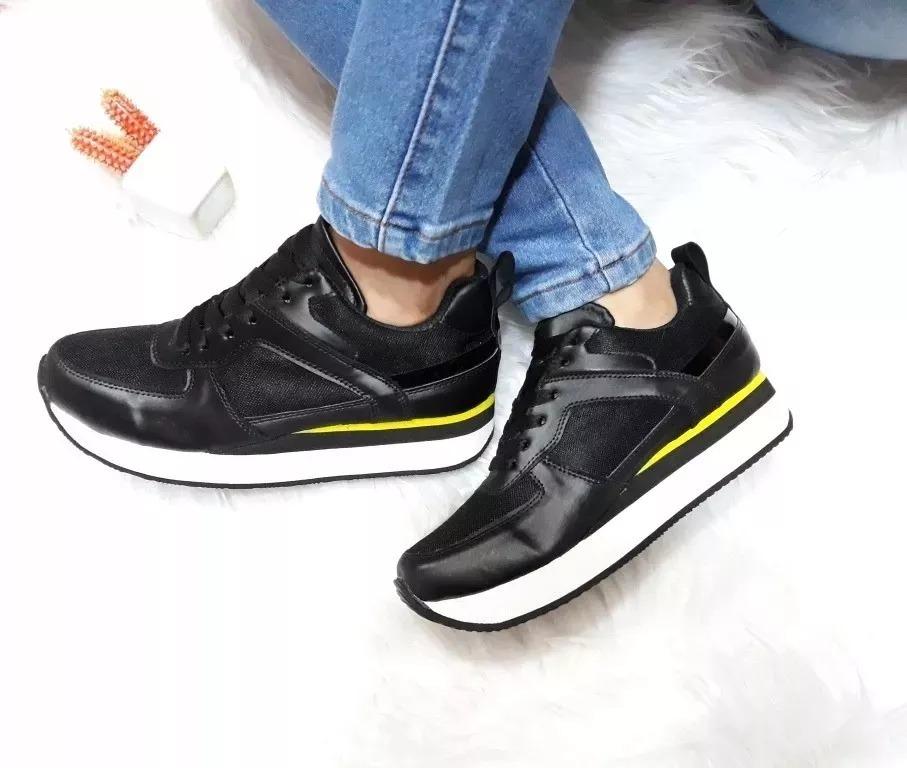 zapatos de dama doble piso suela alta colombianos. Cargando zoom. 9f957f9f839d