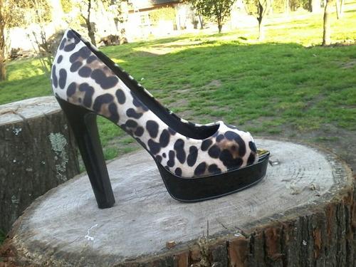 zapatos de dama tigresa