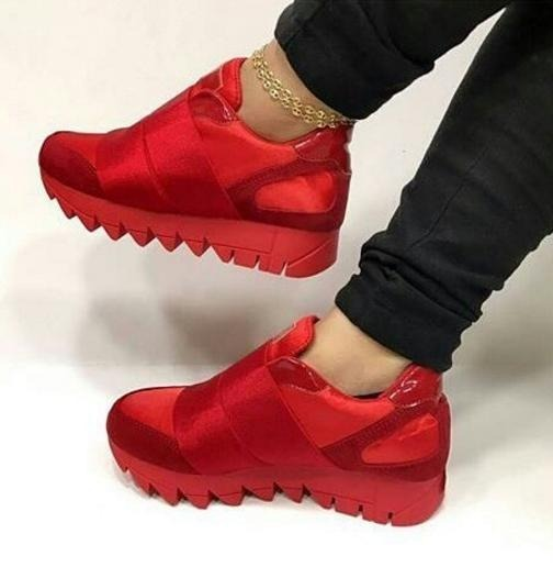 fe0bce0b4c5 Zapatos De Dama Ultima Moda Colombiana Suela Tiburon - Bs. 120