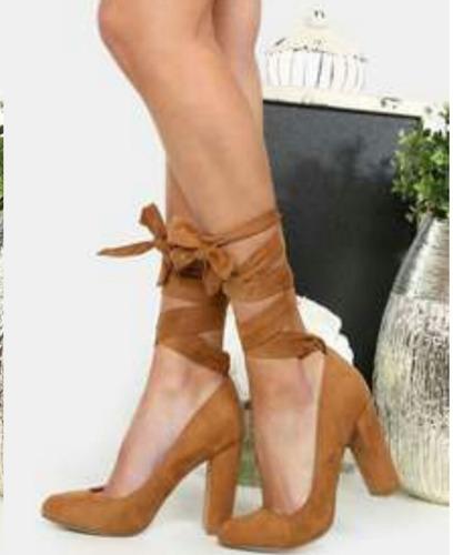 zapatos de damas tacón alto
