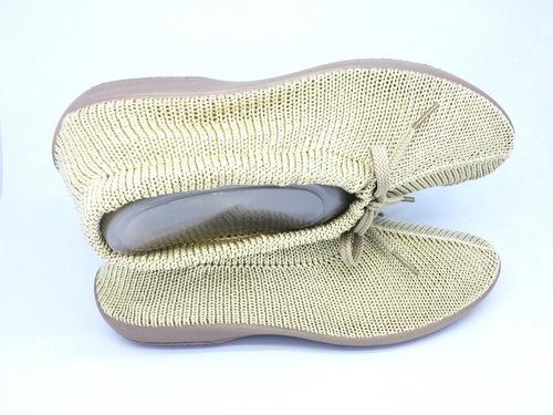 zapatos de descanso plumex para abuelas, tías en beige