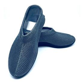 Zapatos De Descanso Plumex Para Abuelas, Tías En Gris