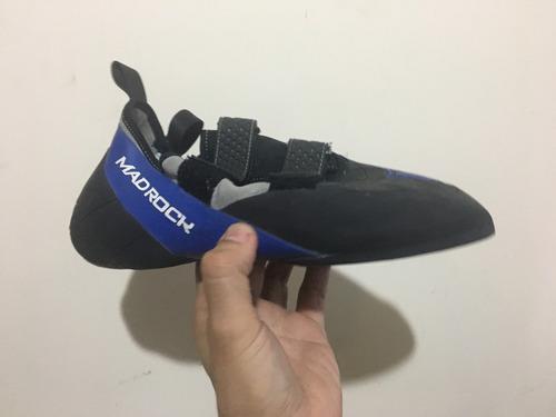 zapatos de escalar mad rock, black/blue ,10.5 d us