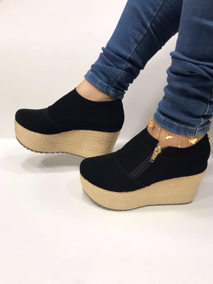c4ff840dd438f Zapatos De Estilo Bota Botin Negro De Moda Para Mujeres Dama ...