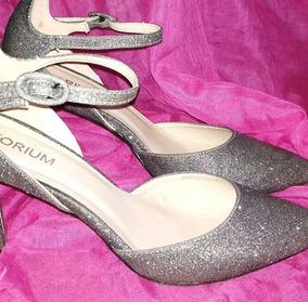 a112a965 Zapatos Fiesta Stiletto - Calzados Gris oscuro en Mercado Libre Uruguay