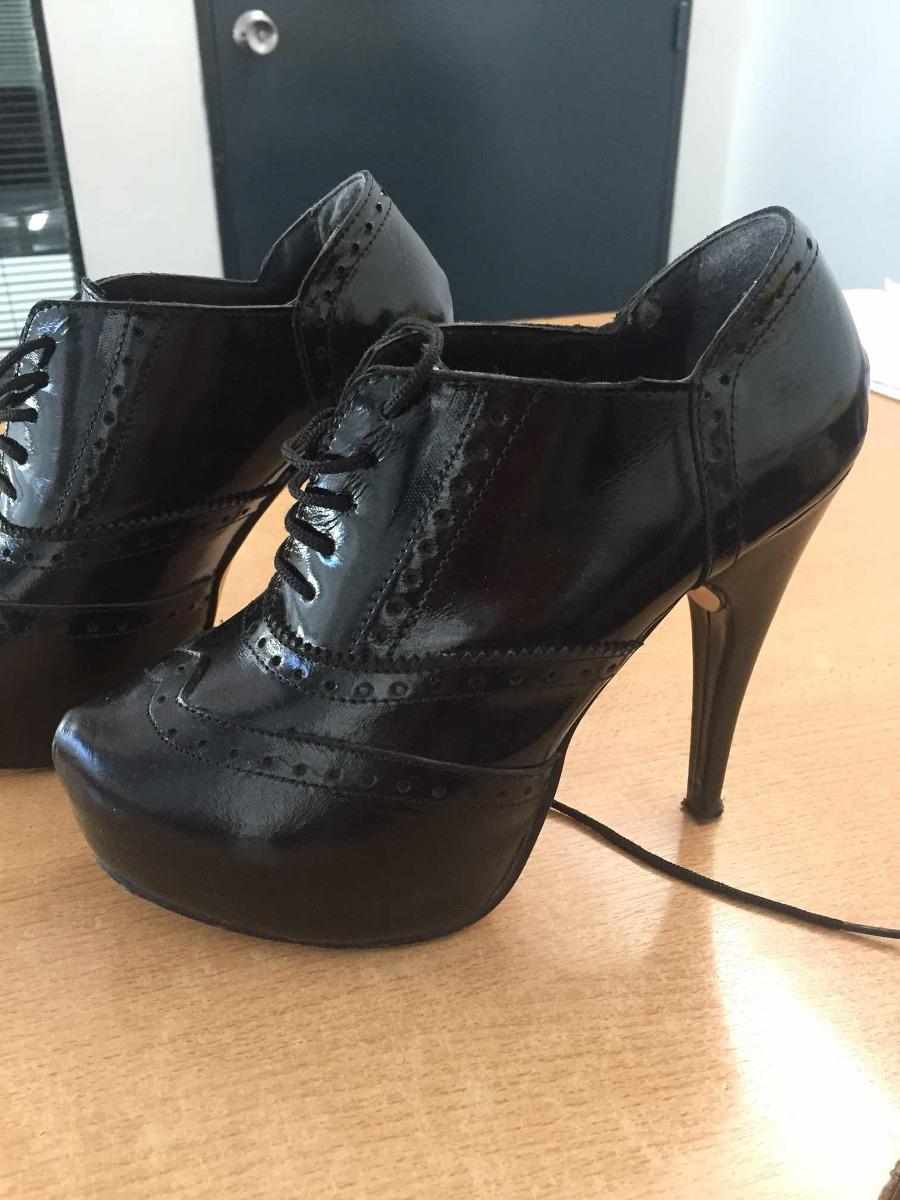 32e5ce6c8 Zapatos De Fiesta Charol Negro T37 - $ 350,00 en Mercado Libre