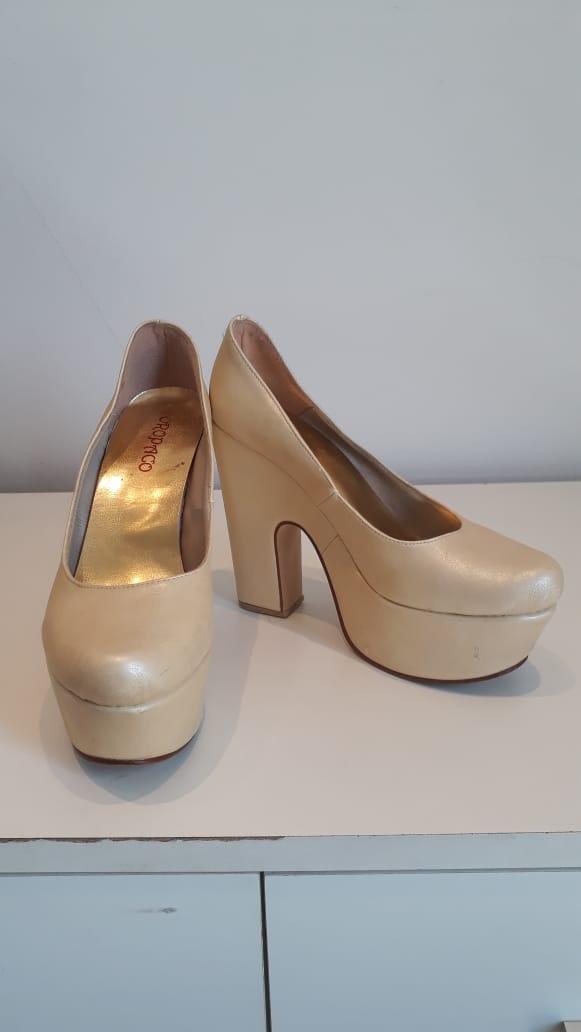 zapatos de fiesta ideal vestido de 15 o novia color natural