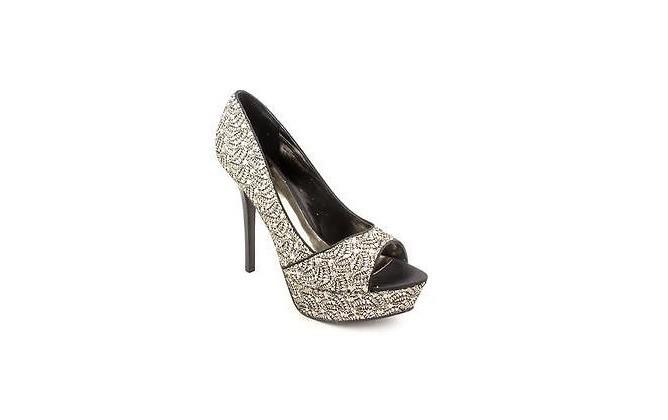 negro fiesta carlos zapatos santana con plata de brillos xEvq5Fw1q