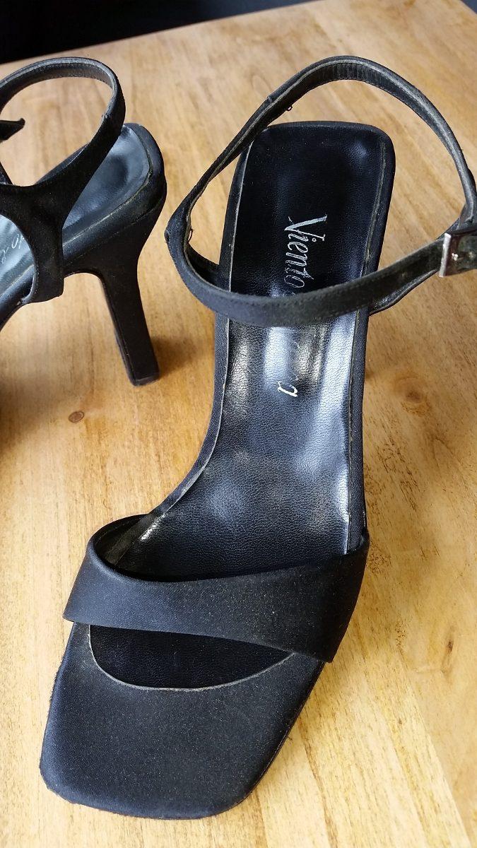 Zapatos Fiesta Viento T37 Buenos429 12 Marea De Negros En Y DH2EI9