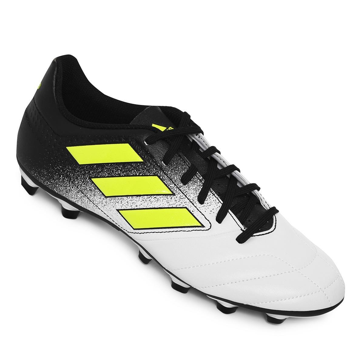 zapatos de futbol adidas ace 17.4 fg blanco-negro. Cargando zoom. 72fea5fd4f2ad