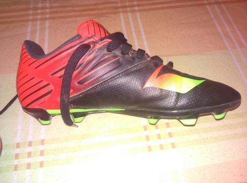 zapatos de futbol adidas mesi 15.3 tacos