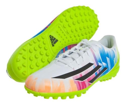 zapatos de futbol adidas messi f5 microtacos niños 32-38
