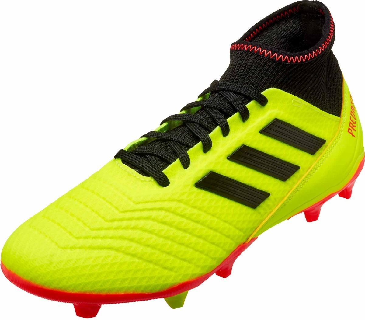 7f22ee1e1c604 zapatos de fútbol adidas predator 18.3 fg  rincón del fútbol. Cargando zoom.