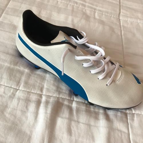 zapatos de fútbol  marca puma talla 9/ 42 hombre