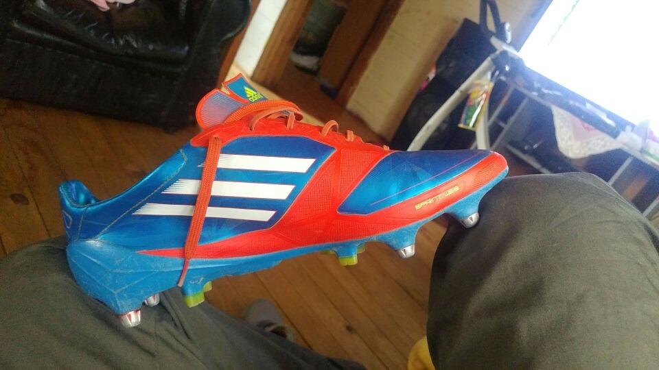 Zapatos De Futbol Mixtos adidas Adizero F50 -   60.000 en Mercado Libre 105ee80ecef8a