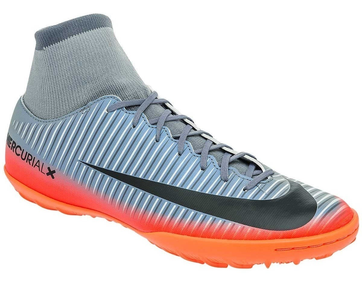 Claro Nike Gris Jr. Mercurialx Proximo Ii Cr7 De Fútbol Para