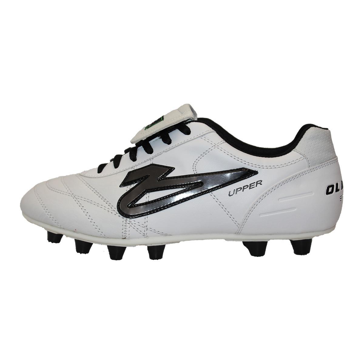 48bf84310424f Zapatos de futbol olmeca upper blanco piel en mercado libre jpg 1200x1200 Futbol  olmeca