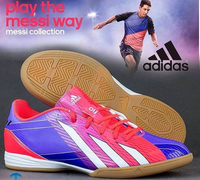 Zapatos De Futbol Sala O Futsal adidas Messi F10 - Bs. 76.000 cb2a985b01d0c