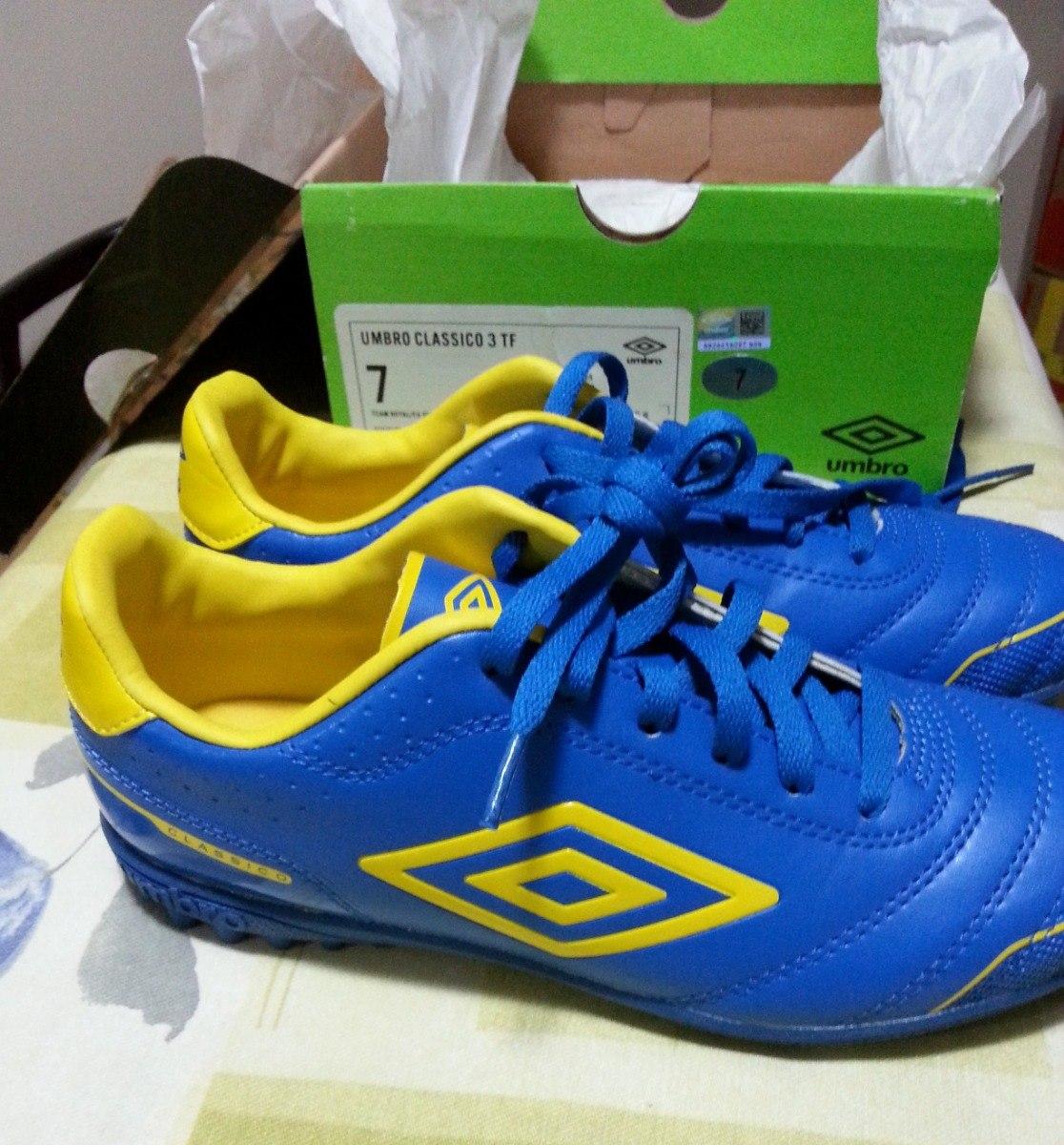 de3c6a118946f Zapatos De Futbol Umbro Nuevos Talla 40 Classico 3 Tf - Bs. 15.000 ...