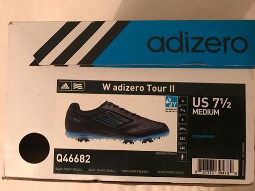zapatos de golf adidas talle 7 y medio adizero
