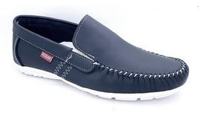 información para 70968 75216 Zapatos De Hombre 100% Cuero Mocasines Náuticos Casual 2019