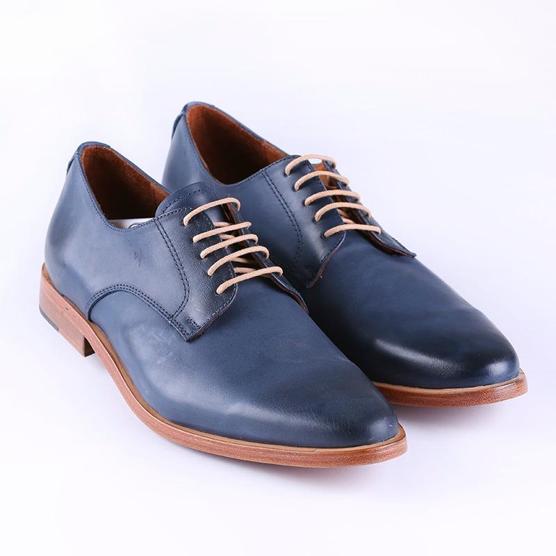 Zapatos Legitimo Cuero K Oferta De Azules Hombre Daniel QtCBxrhdos