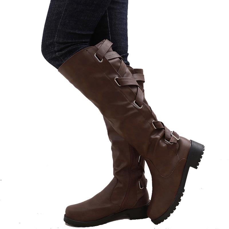 Invierno Mujeres Con Botas Forro Para Par Zapatos De Cálido ZiPXuk