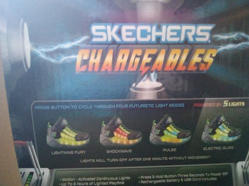zapatos de luces