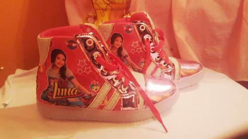 zapatos de luces - soy luna