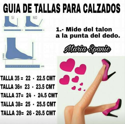 zapatos de mujer btas bucaneras botines consulta antes