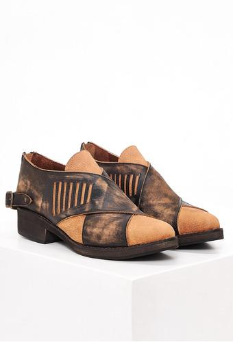 zapatos de mujer clara barcelo pampa y la via marrón