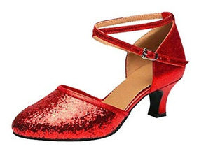 Con De Forma Para Baile Zapatos Tacones Mujer Pinchos En 8Z0wkXONnP