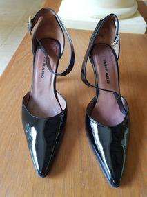 2522cdb66 Zapatos De Mujer Cuero Negro Marca Ferraro Talle 38