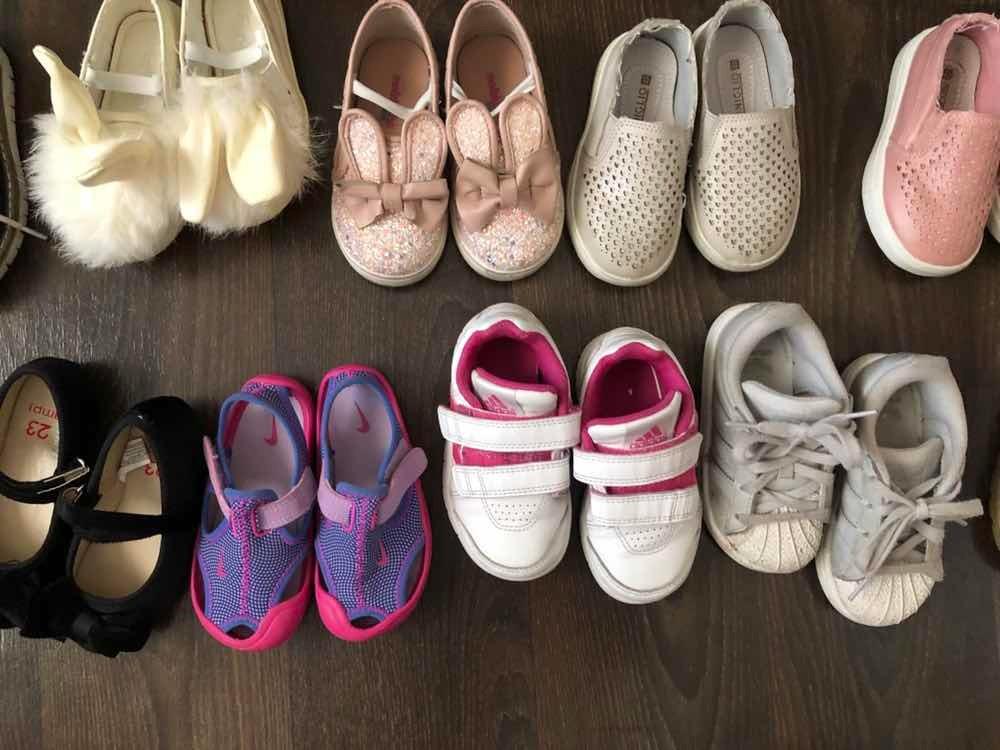 3dde792b Zapatos De Niña Bebé 22 Y 23 - $ 5.000 en Mercado Libre