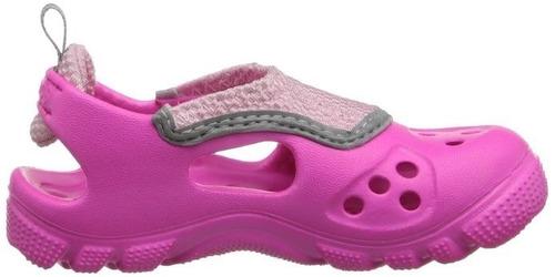 zapatos de niña crocs  talla 12