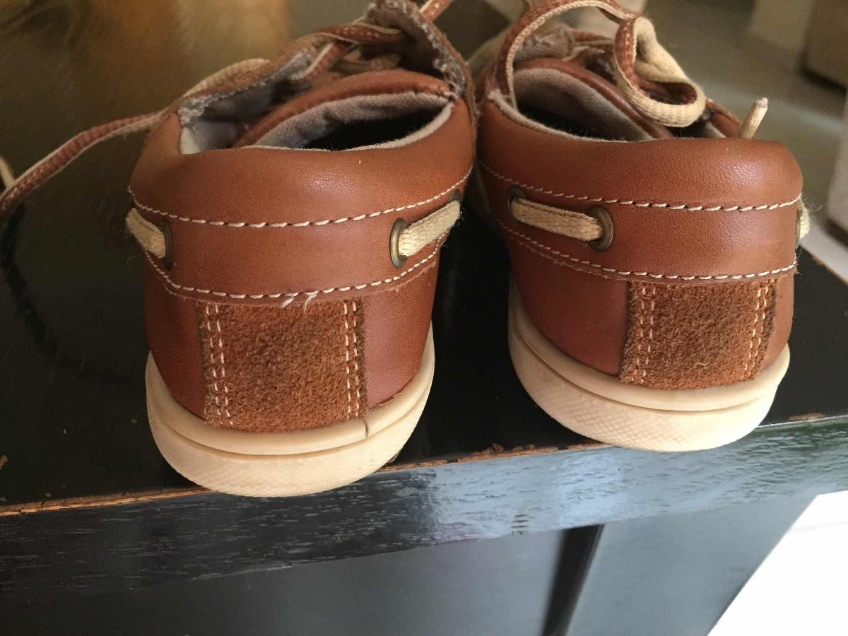 641f45b6 Zapatos De Niño Zara Náuticos De Piel 17cm - $ 333.00 en Mercado Libre