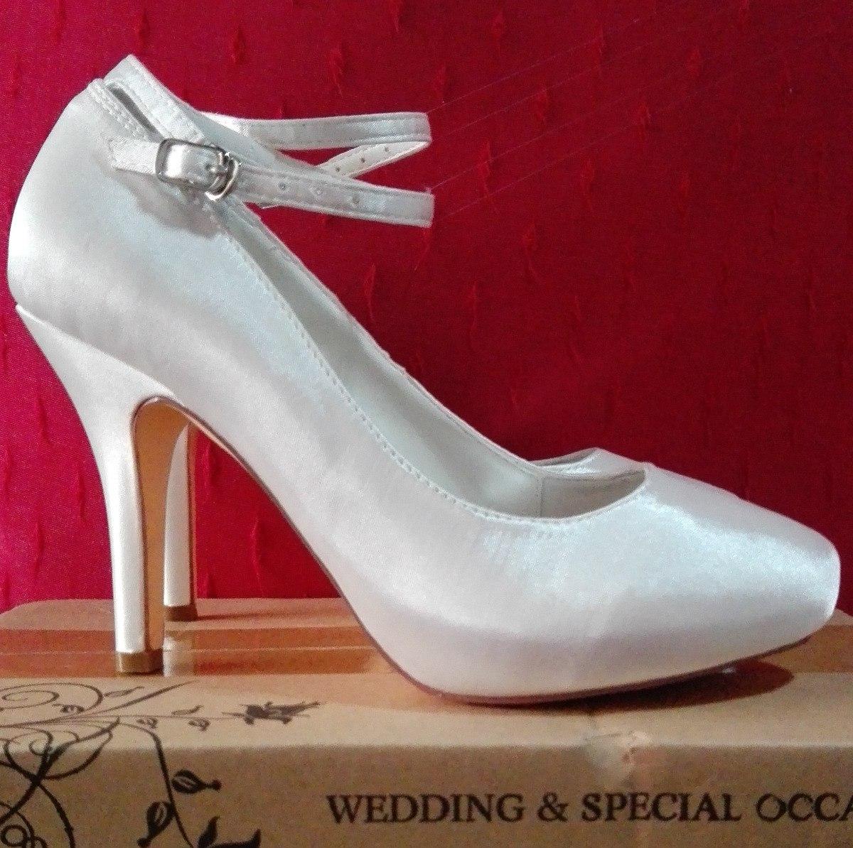 d4162b90 Zapatos De Novia Color Marfil - $ 1.500,00 en Mercado Libre
