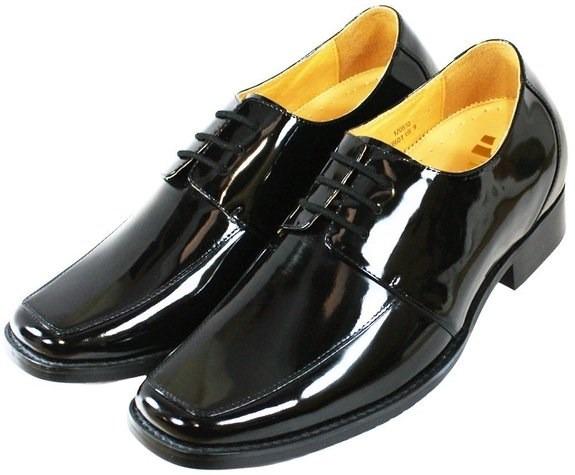 Zapatos de piel en charol color negro marca toto 1 en mercado libre - Charol zapateria ...