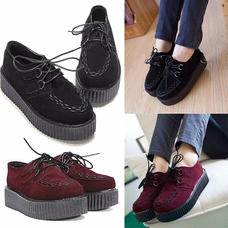 Zapatos De HarajukuGrungeHipster PlataformaCreepers PlataformaCreepers De Zapatos HarajukuGrungeHipster Zapatos 0OZNkXwnP8