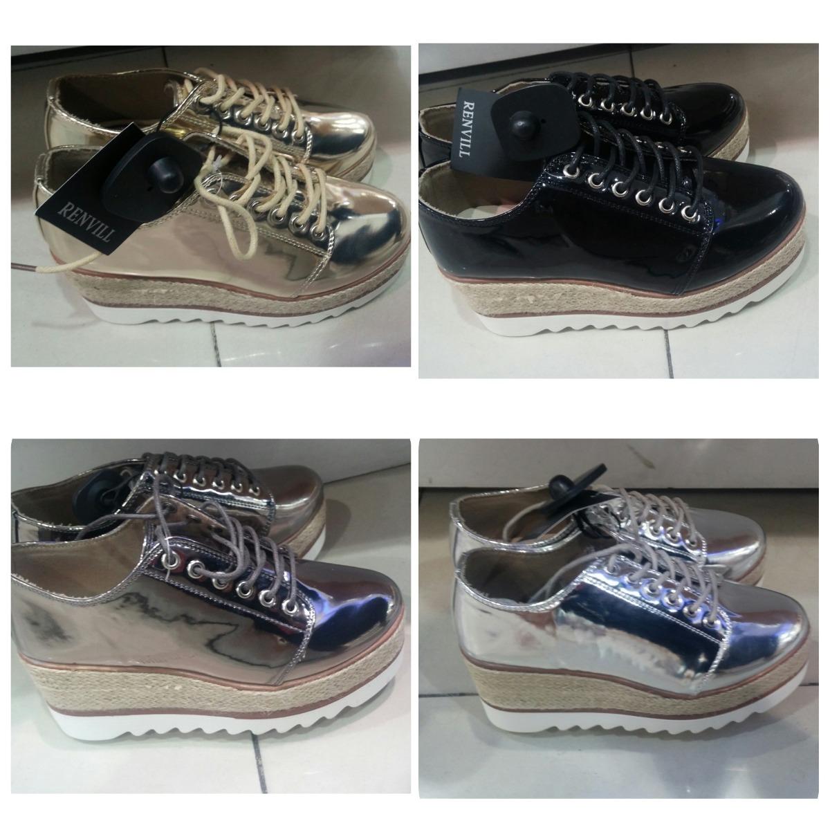 83538d36d5478 zapatos de plataforma oxford dama moda brillantes. Cargando zoom.