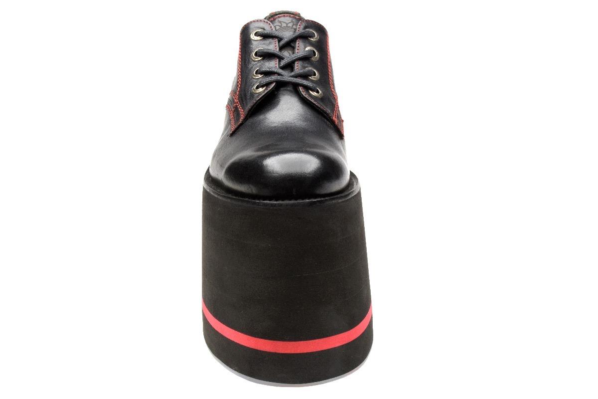 Zapatos Shoe Muro Mod Para Plataforma Tie Hombre Negros De wTUrwC