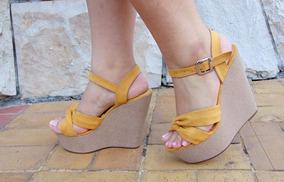 nueva productos a0215 3c4bf Zapatos De Plataforma Taco Magnolia Venta Por Mayor