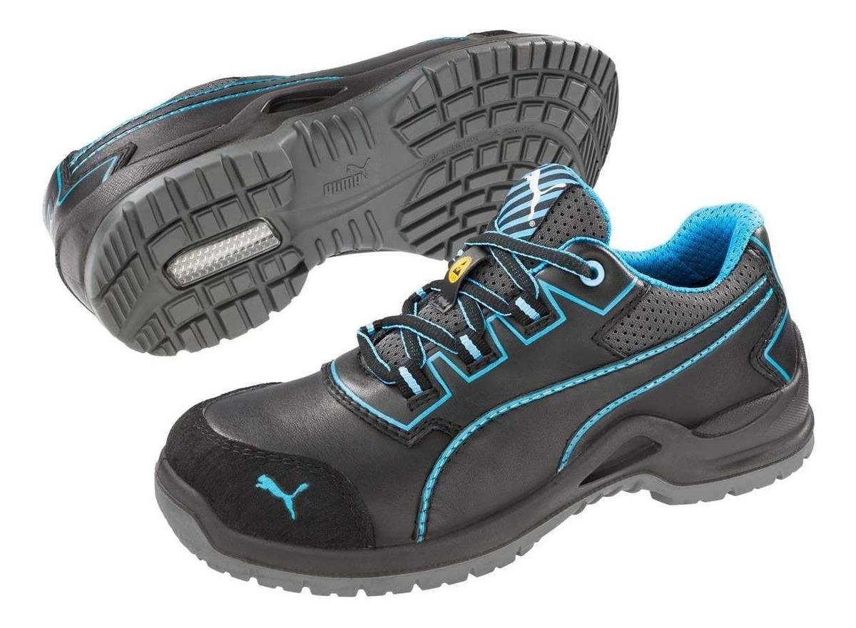 zapatos seguridad mujer puma