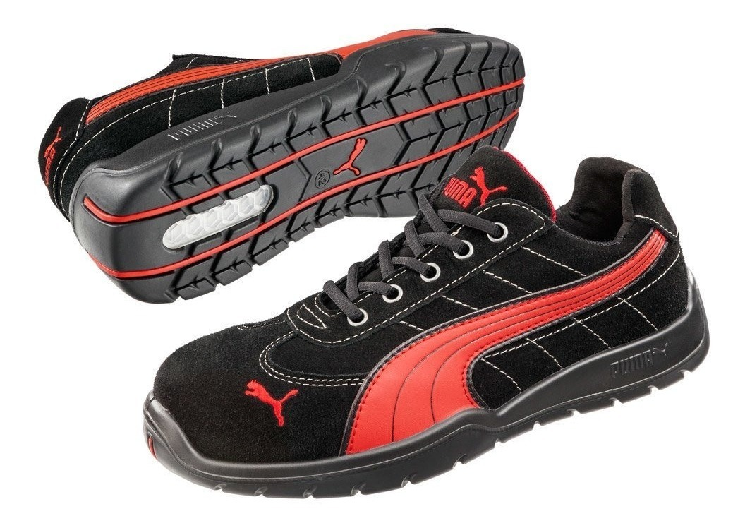 Zapatos De Seguridad Puma Silverstone Low Sd Industriales