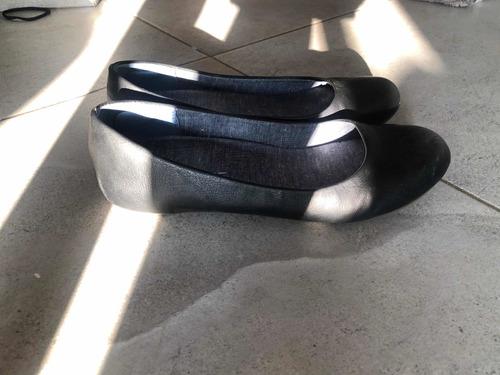 zapatos de sholl talla 6 negros balerinas