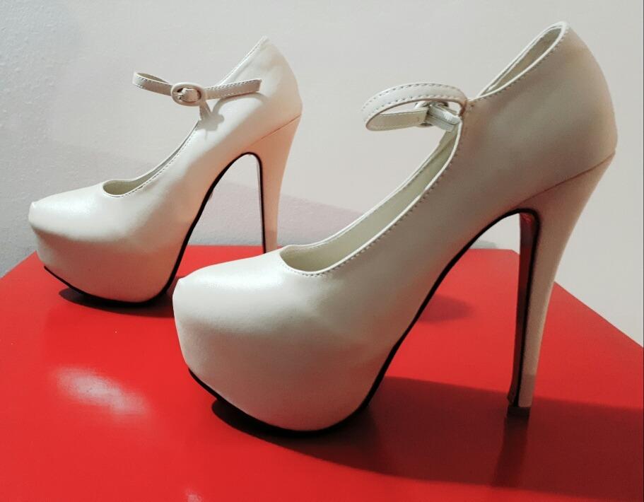 zapatos de taco alto nude (beige)  stilettos. Cargando zoom. 1b156f377c09